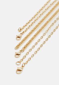 Topman - MIXED CHAIN - Collana - gold-coloured - 2