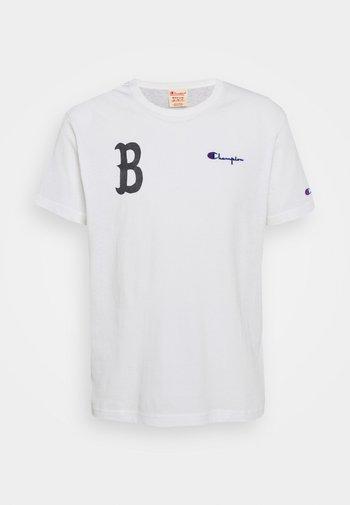 CREWNECK BERLIN - Print T-shirt - white