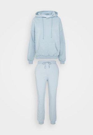 HOODED LOUNGE SET  - Pyjama - blue
