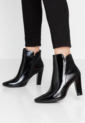 AZUBA - High heeled ankle boots - black