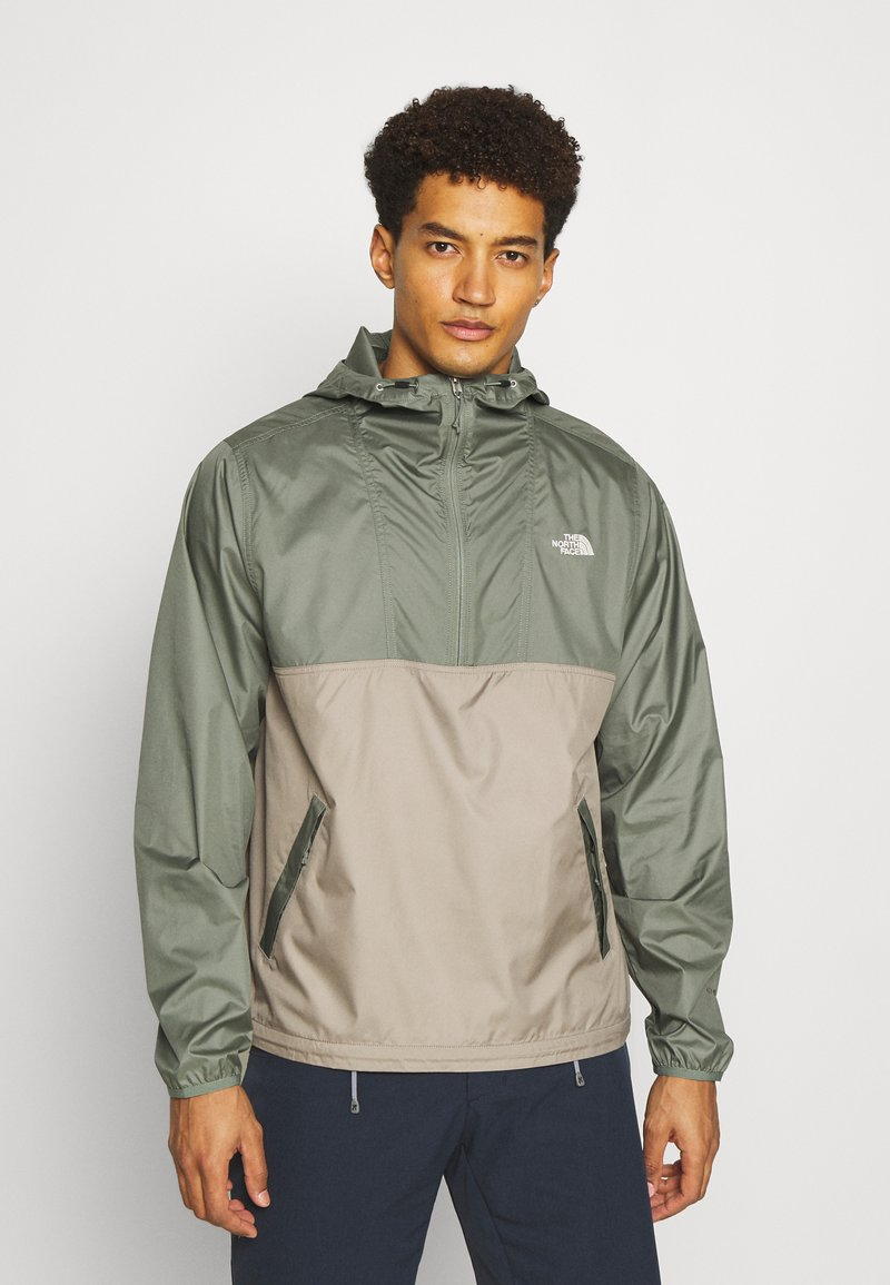 The North Face - CYCLONE ANORAK - Outdoor jacket - olive/grey