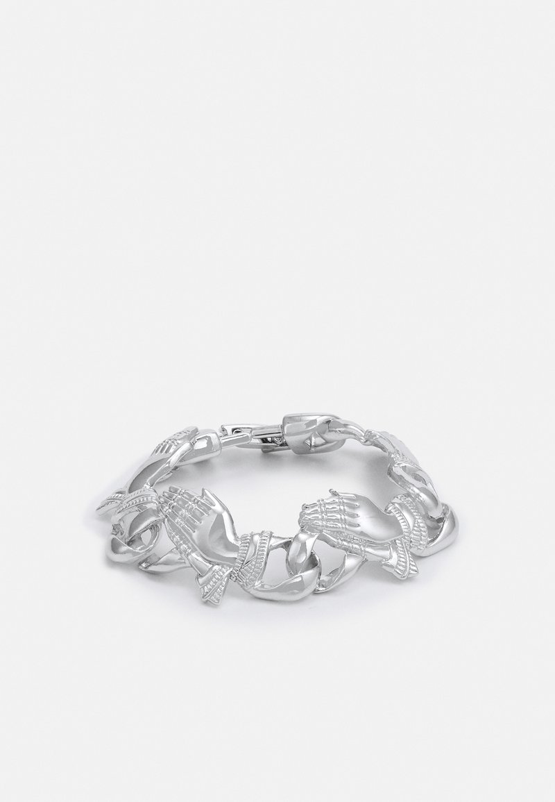 Urban Classics - PRAY HANDS BRACELET UNISEX - Bracelet - silver-coloured