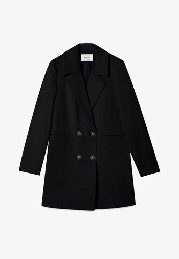 BASIC - Cappotto classico - black