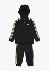 adidas Performance - SHINY  - Tracksuit - black/gold - 0