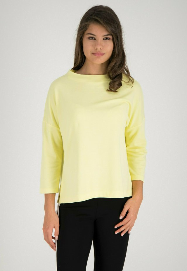 Sweatshirt - citron  color
