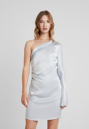 CAROLINE MINI DRESS - Cocktail dress / Party dress - silver