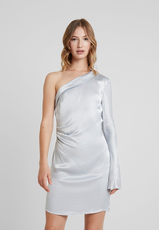 CAROLINE MINI DRESS - Vestito elegante - silver