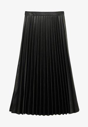ONA - A-line skirt - černá
