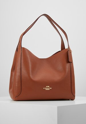 POLISHED HADLEY - Handbag - saddle