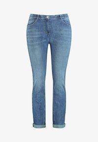 Samoon - Slim fit jeans - blue denim - 2