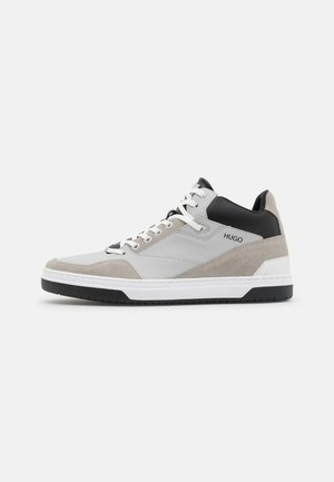 SWITON - High-top trainers - light/pastel grey