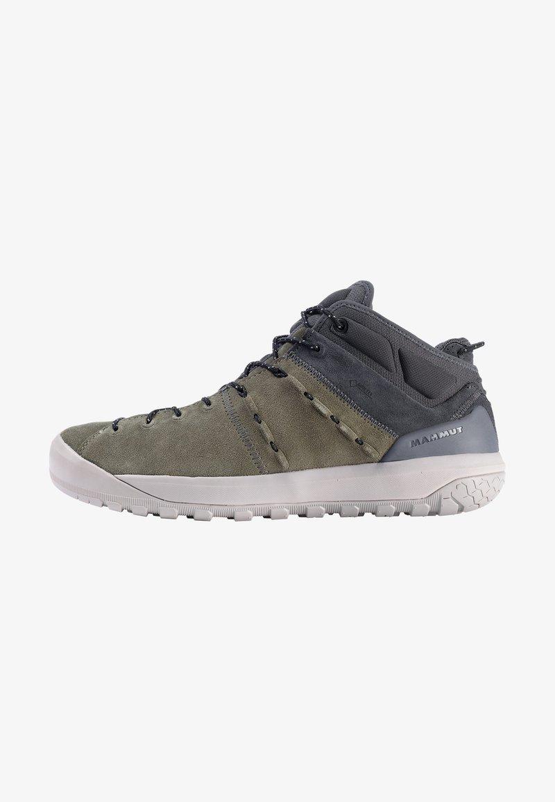 Mammut - HUECO MID GTX - Hiking shoes - iguana-dark titanium
