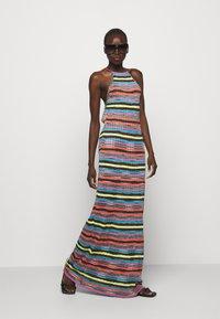 M Missoni - ABITO LUNGOSENZA MANICHE - Gebreide jurk - multi-coloured - 4