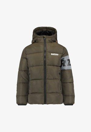 TIRUR - Winter jacket - army green wood