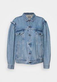 Levi's® Made & Crafted - LMC ALPENGLOW TRUCKER - Džínová bunda - blue - 0
