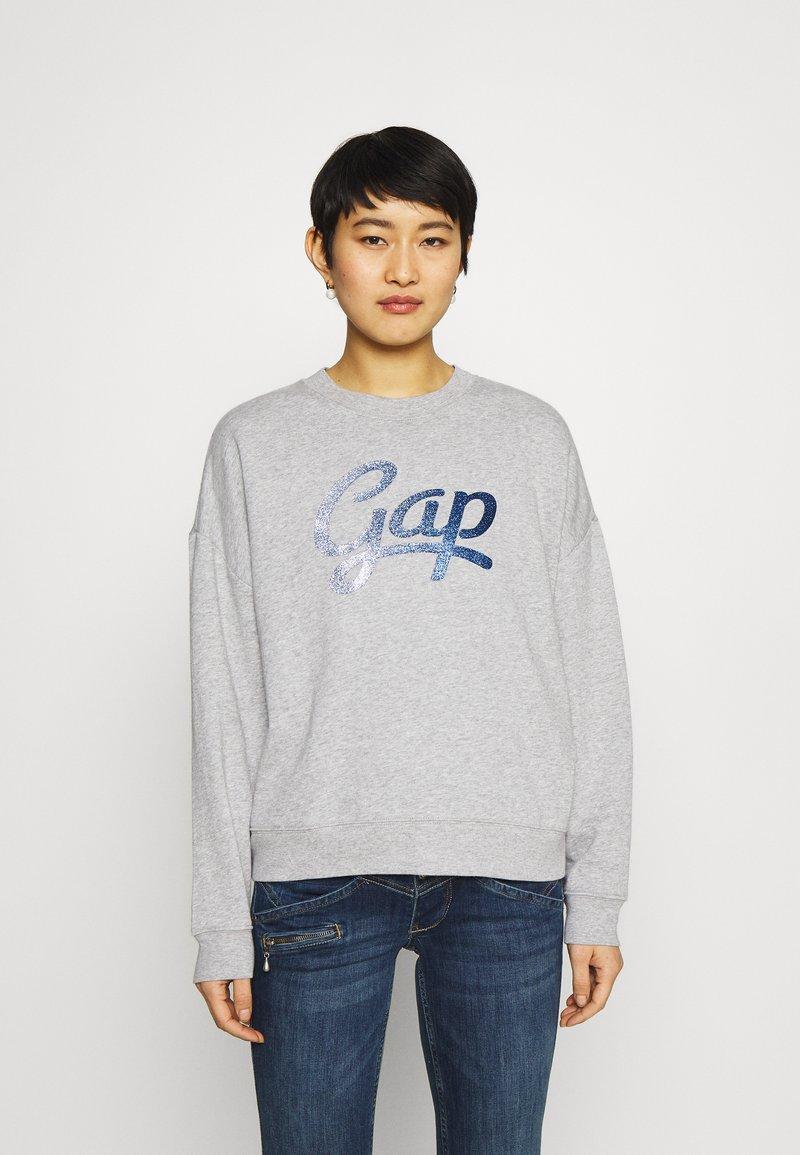 GAP - OMBRE - Sweatshirt - light heather grey
