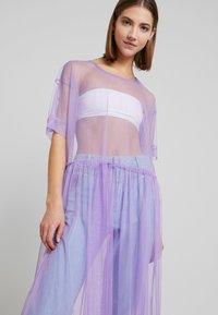 Monki - SILVIA DRESS - Korte jurk - tulle purple - 4