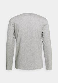 Les Petits Basics - LONGSLEEVE LE FRENCH UNISEX - Long sleeved top - heather grey - 1