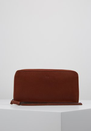 ZOOM ZIP WALLET - Lommebok - whisky