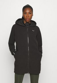 Puma - STUDIO JACKET - Fleece jacket - black - 0