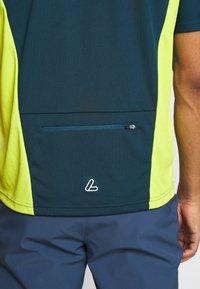 LÖFFLER - BIKE PACE - Print T-shirt - pond green - 5