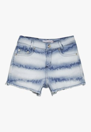 GIRLS HIGH WAIST SHORT - Denim shorts - denim