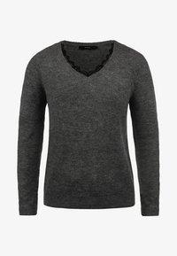 Vero Moda - LACEY - Jumper - dark grey - 4