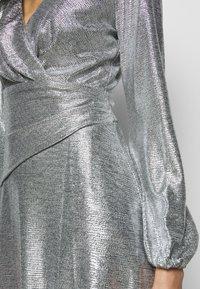 Lauren Ralph Lauren - DRESS - Cocktail dress / Party dress - dark grey/silver - 5