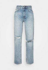 ONLINC ROBYN LIFE - Straight leg jeans - light blue denim