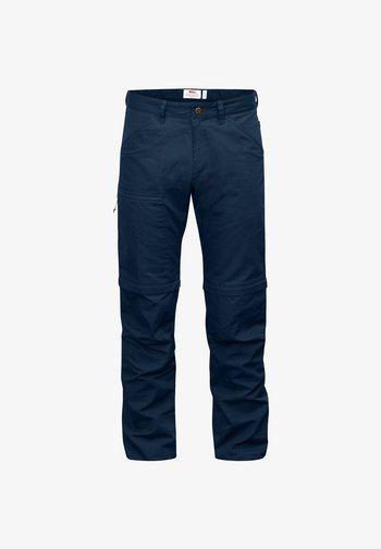 Cargo trousers - nachtblau