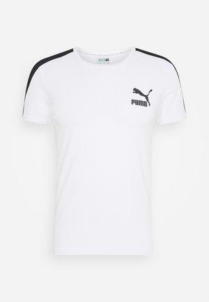 ICONIC SLIM - Funktionsshirt - white