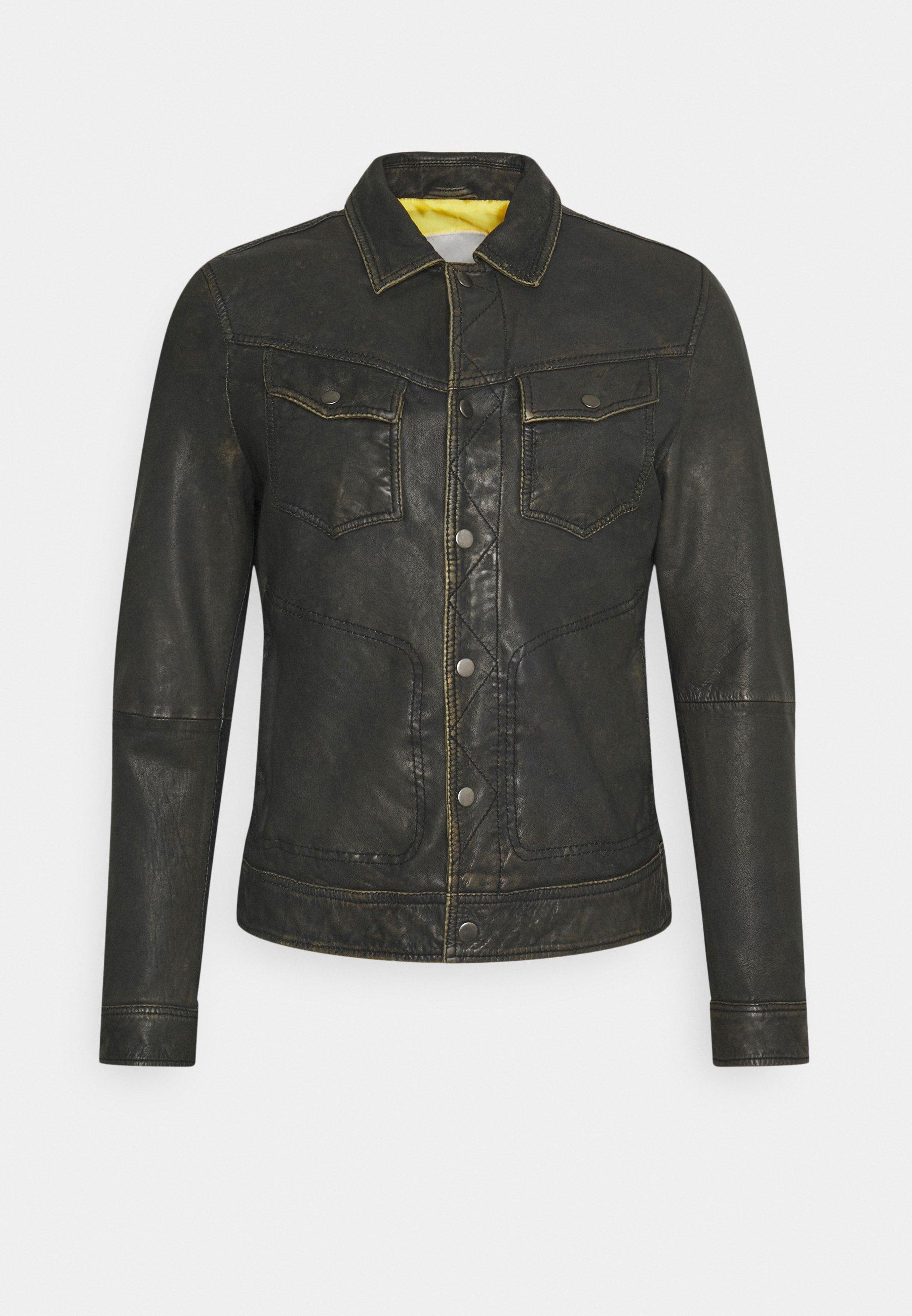 Men ASPEN JACKET - Leather jacket