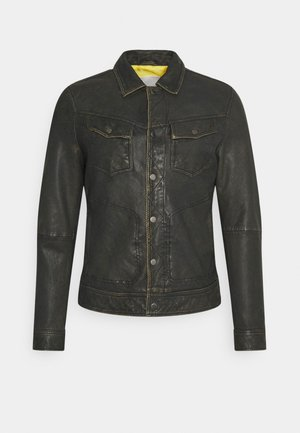 ASPEN JACKET - Leren jas - vintage brown