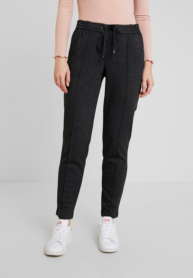 TROUSERS - Pantaloni - grey/black