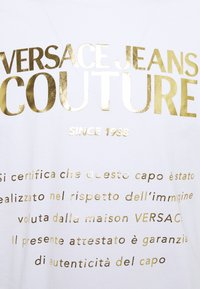 Versace Jeans Couture - MOUSE - Print T-shirt - white - 7