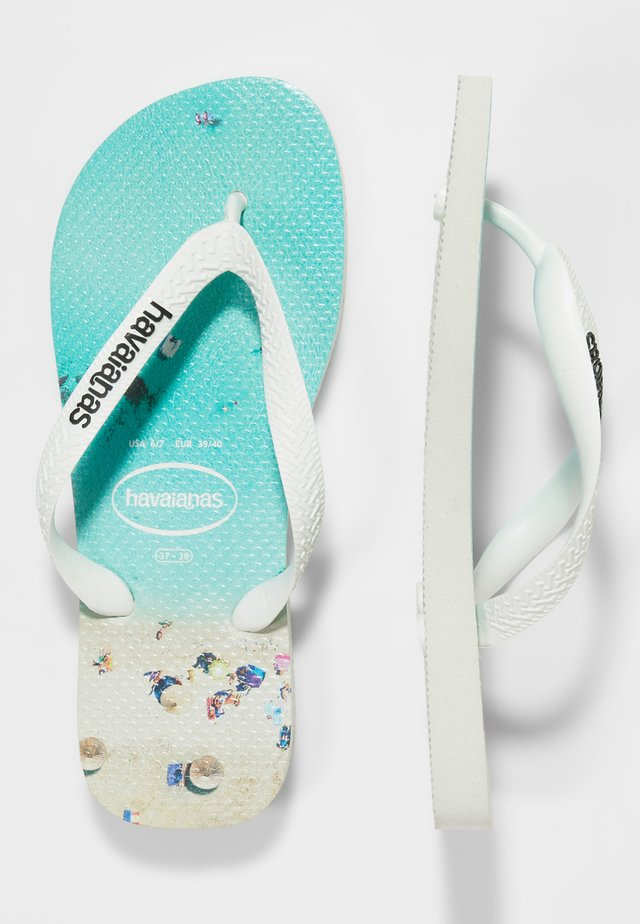 HYPE - Chanclas de dedo - white/water
