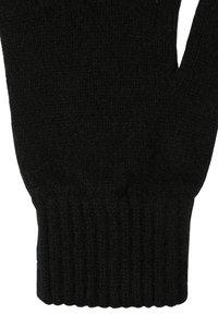 Johnstons of Elgin - CASHMERE GLOVES - Gloves - black - 3