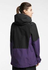 Haglöfs - LUMI JACKET - Ski jacket - purple rain/true black - 1
