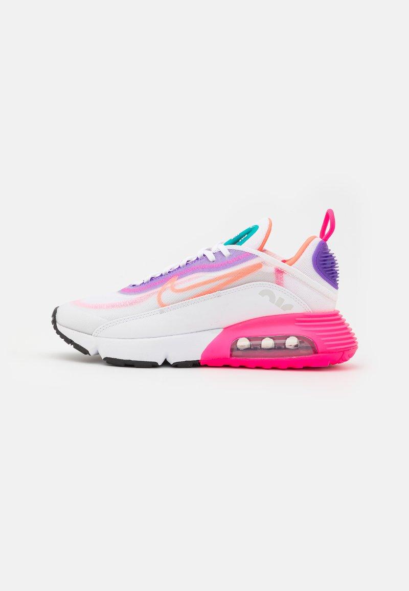 Nike Sportswear - AIR MAX 2090 - Sneakers - white/hyper orange/photon dust/hyper pink/hyper grape/turbo green