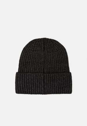 EMBROIDERD HAT UNISEX - Beanie - black