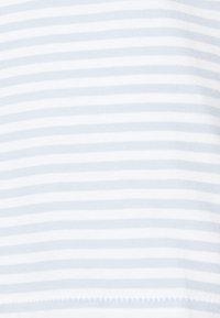 Selected Femme - SLFMY PERFECT TEE BOX CUT - Print T-shirt - bright white/xenon blue - 3
