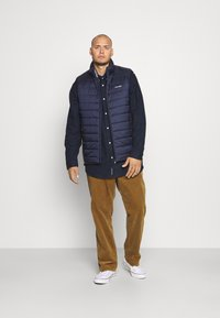 Polo Ralph Lauren Big & Tall - FLAT FRONT - Trousers - new ghurka - 1