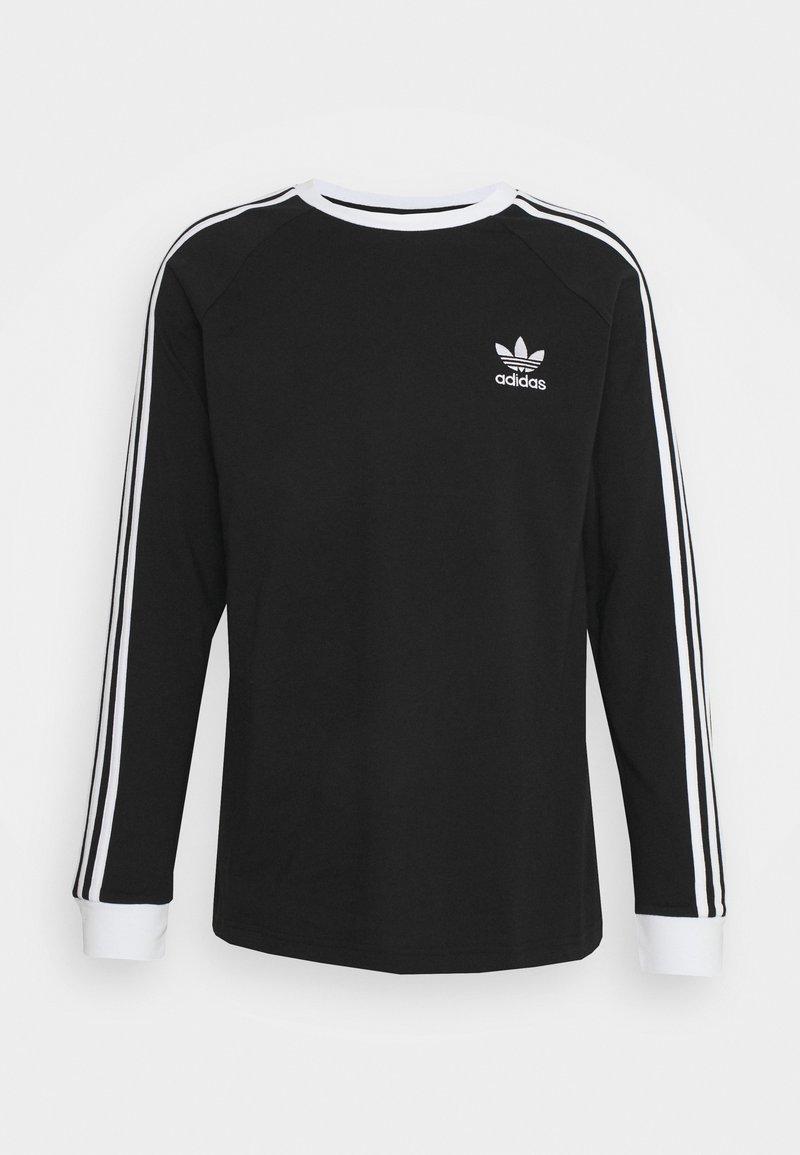 adidas Originals - ADICOLOR CLASSICS 3-STRIPES LONG SLEEVE TEE - Long sleeved top - black