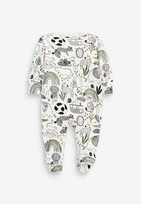 Next - 3 PIECE PACK ELEPHANT  - Sleep suit - green - 4