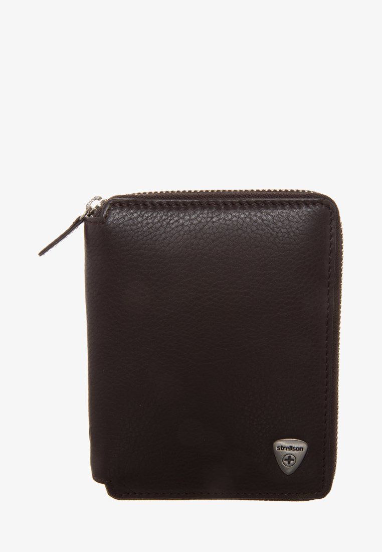 Strellson Premium - HARRISON - Wallet - darkbrown