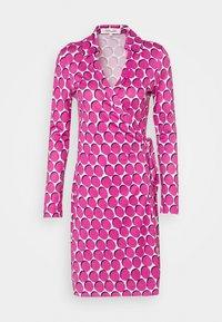Diane von Furstenberg - NEW JEANNE  - Vapaa-ajan mekko - pink - 3