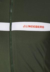 J.LINDEBERG - SEASONAL JARVIS - Fleece jacket - thyme green melange - 2