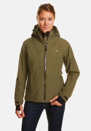 CLARA - Waterproof jacket - olive night