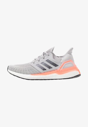 ULTRABOOST 20  - Neutral running shoes - grey two/night metallic/signal coral