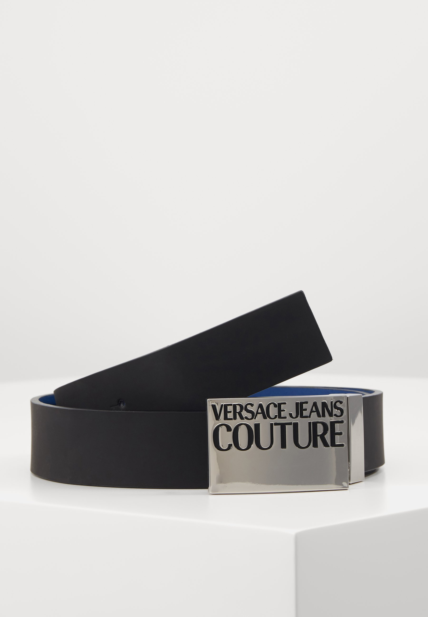 Versace Jeans Couture Belte - black/silver/dark blue/svart I6PGtLlmqn9N24K